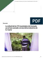 La Mitad de Los 172 Municipios de Granada Ya Se Han Sumado a La Lucrativa Industria de La 'María' _ Ideal