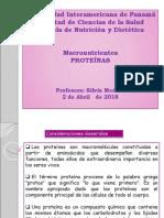 Clase 13.Proteínas-2 de abril