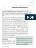 Salud de los indígenas, determinantes y patrones de enfermedad.