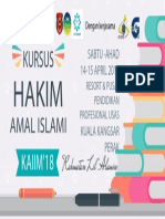 Banner Kursus Hakim Kaiim'18