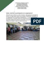 Reporte de Exposición de Carteles