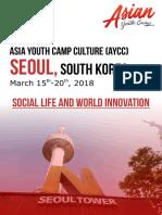 Proposal Ayc Seoul