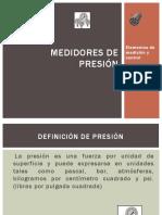 Medicion de Presion