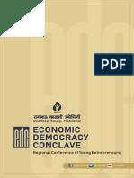 Economic Democracy Conclave Programme Report Booklet