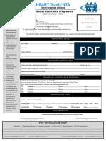 Financial Assistance Application Form 2014