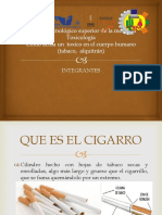 Toxico Cigarro