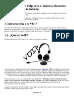 Herramientas de VoIp Para El Usuario