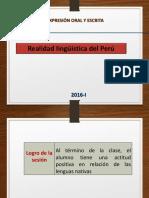 Realidad Linguística Del Perú