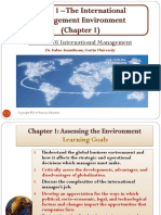 1b Topic 1 the International Management Environment