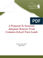 2018-03 common school trust lands report