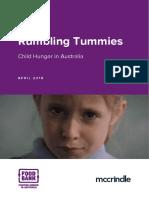 Rumbling Tummies Full Report 2018