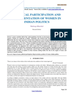 Political Participation and Representation of Women in Indian Politics -180 (1)