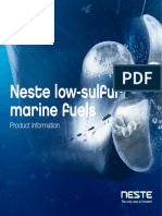 Nestle low-sulfur marine fuels