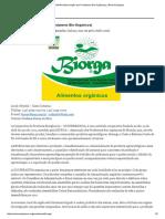 BIORGA (Associação Dos Produtores Bio-Orgânicos) _ Rede Ecológica
