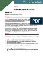 Brosur BANK OPERATIONAL RISK MANAGEMENT .docx