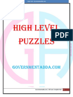 High Level Puzzles
