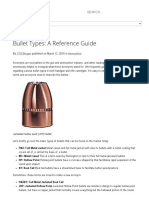 Bullet Types_ a Reference Guide
