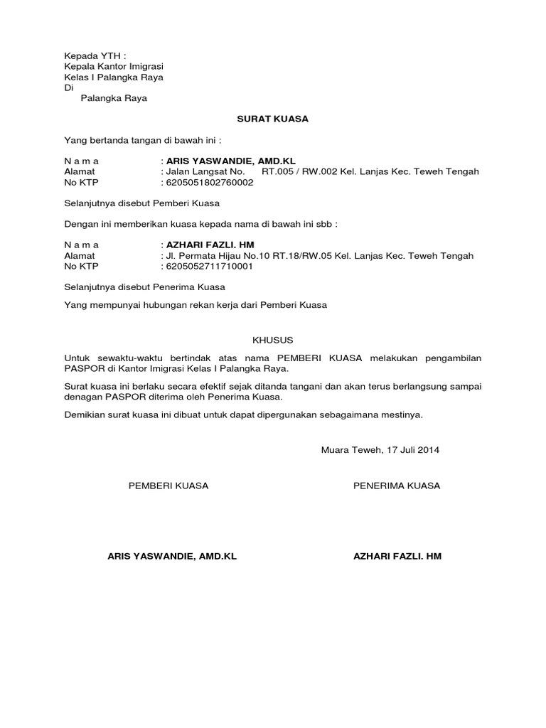 Surat Kuasa Paspordocx