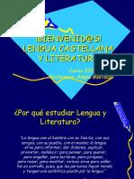 Presentación Lengua Castellana y Literatura