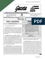 Publlicacion La Gaceta 2013032