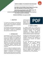 Informe_Velocidad de Reaccion