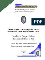 Energia Eolica en La Red de Conexion-Milton Antonio Barboza Huete