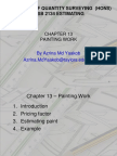 Chapter 13 - Painting Work