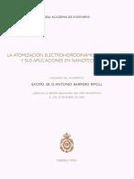 Antonio Barrero Ripoll_La Atomización Electrohidrodinámica de Líquidos y sus Aplicaciones en Nanotecnología.pdf