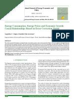 Energy Vecm