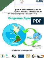 Programa Synergy. Metodologías para la Implementación de los Mecanismos Flexibles de Kioto. Mecanismo de Desarrollo Limpio en Latinoamérica.pdf
