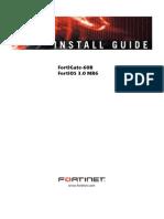 FortiGate-60B Install Guide
