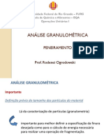 Aula 2 - Análise Granulométrica