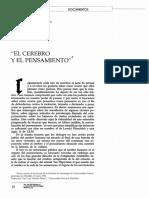 Georges Canguilhem - El cerebro y el pensamiento.pdf