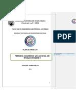 Plan de Trabajo Nivelacion 2018-0 Corregir