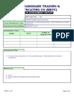 Focuss Assessment Report