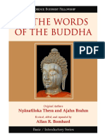 Nyanatiloka, Brahm, & Bomhard - In the Words of the Buddha