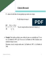 Calculo Diferencial - Ua 1