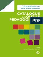Catalogue Des Outils Pedagogiques Cultures Et Sante