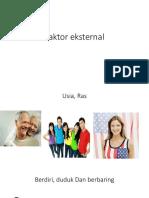 faktor ekaternal