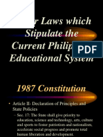 Legal Bases in Education