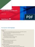 BofA Q1 2018 Earnings Presentation