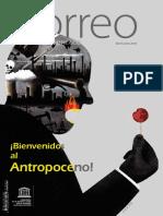 """""""¡Bienvenidos al Antropoceno!"""", El Correo de UNESCO, Abril-Junio 2018"""