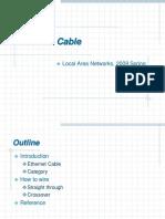 Cabling UTP