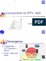 Introduction to IPTV, VoD