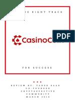 CSC CasinoCoin Review CryptoSpective