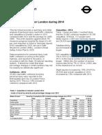 Casualties in Greater London 2014
