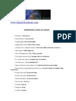 Medicina-Pack Enfermeria-Expresiones Utiles en Ingles