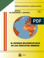 051 El Enfoque Multidisciplinar en Los Conflictos Hibridos