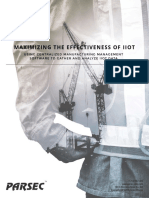 Whitepaper Maximizing the Effectiveness of IIoT1