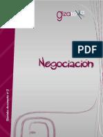 Procedimiento de negociación en la práctica